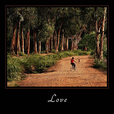 Photograph - Love 3 by Mary Jo Allen