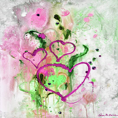 Painting - Love Abstract Painting by Gina De Gorna