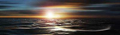 Love Across The Ocean Art Print