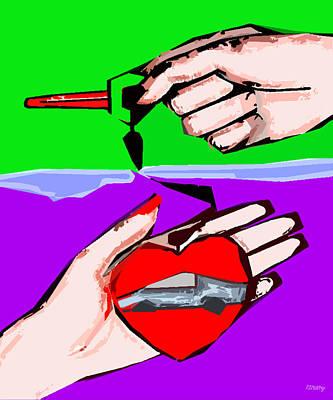 Love Affair Art Print by Patrick J Murphy