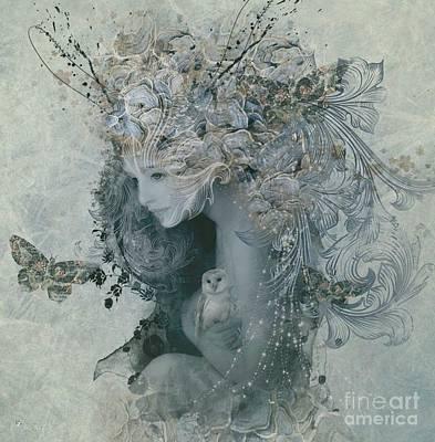 Digital Art - Love  by Ali Oppy