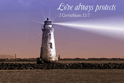 Love Always Protects Art Print