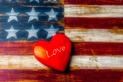 Photograph - Love America by Garry Gay