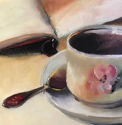 Painting - Love And Art Stilllife  by Michele Carter