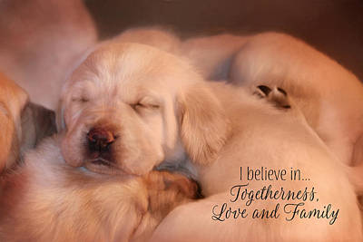 Love And Family Art Print by Lori Deiter