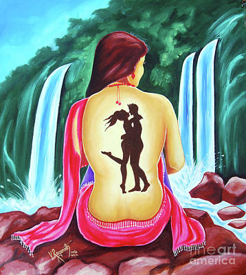 Painting - Love And Intimate by Ragunath Venkatraman