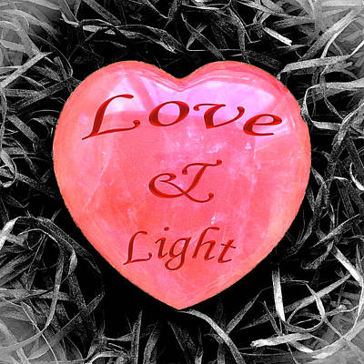 Digital Art - Love And Light by Hazy Apple