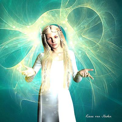 Digital Art - Love And Light by Riana Van Staden