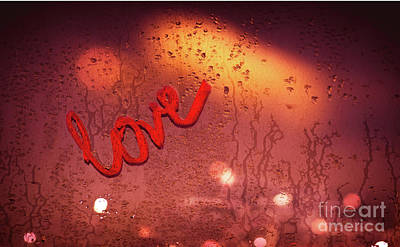 Photograph - Love And Passion Background by Anna Om