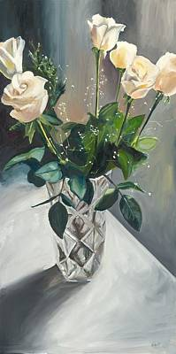 Painting - Love And Roses by Kathleen Heese