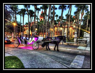 Photograph - Love And St Augustine by Steven Lebron Langston