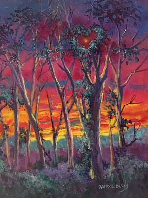 Painting - Love And The Evening Star by Randy Burns
