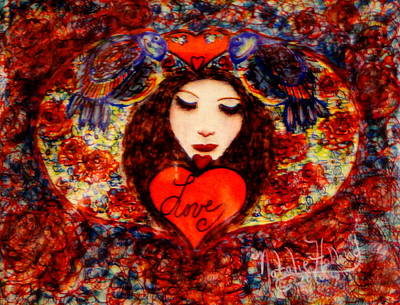 Painting - Love Angel by Natalie Holland