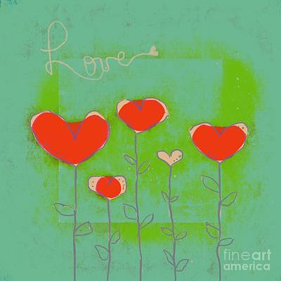 Hearts Digital Art - Love Art - 177abc by Variance Collections