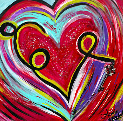 Painting - Love by Artista Elisabet
