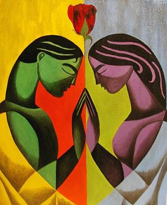 Love As One Art Print