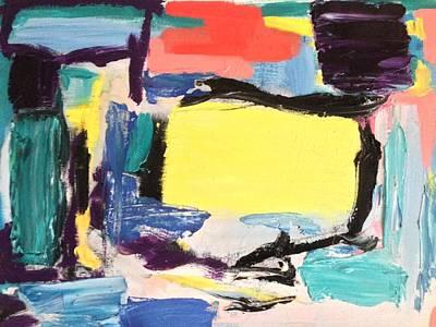 Contemporary Painting - Love At First Sight by Bart Van Der Schueren