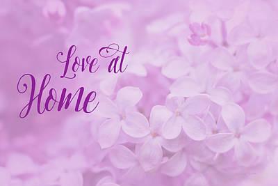 Digital Art - Love At Home by Ramona Murdock