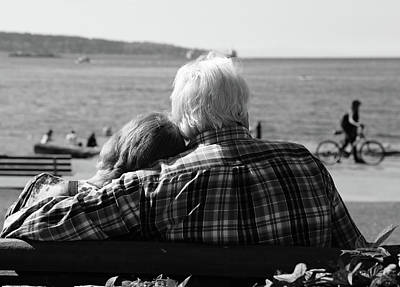 Photograph - Love At Sea  by The Artist Project