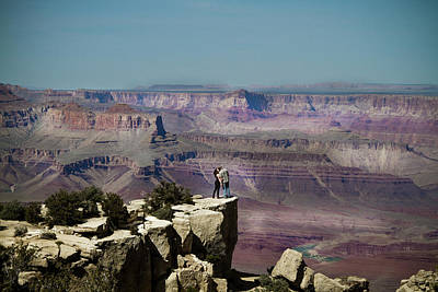 Love At The Grand Canyon Art Print