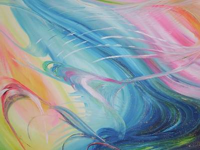 Love Painting - Love by Beverley Ritchings