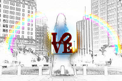 Rocky Digital Art - Love by Bill Cannon