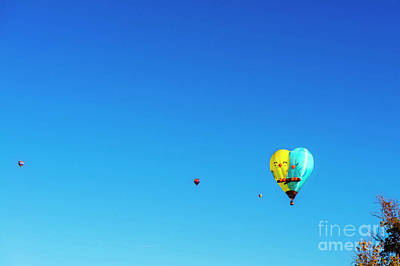 Photograph - Love Birds Ballon by David Arment