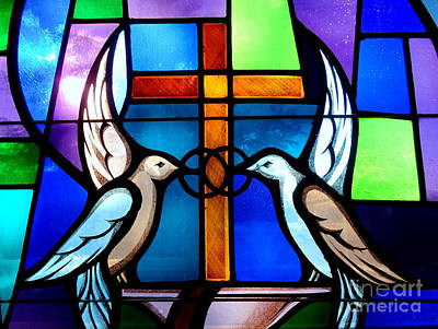 Photograph - Love Birds by Ed Weidman