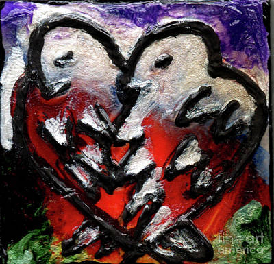 Painting - Love Birds by Genevieve Esson