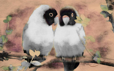 Painting - Love Birds by Robert Smith