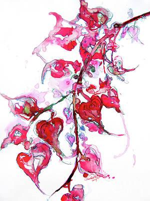 Landscape Drawing - Love Bug by Rachel Meyers
