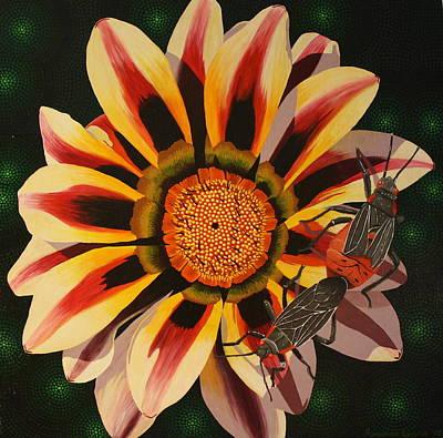 Painting - Love Bugs by Amanda  Lynne