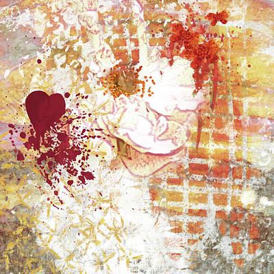 Digital Art - Love by Christine MARTIN