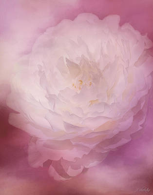 Painting - Love Comes Softly - Flower Art by Jordan Blackstone