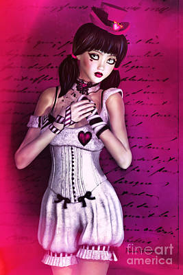 Digital Art - Love Doll by Alicia Hollinger