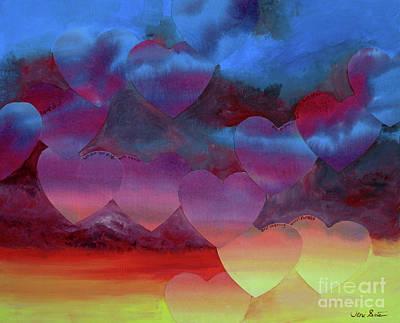 Painting - Love Drift by Jeni Bate