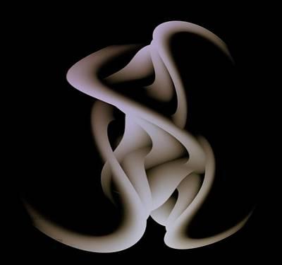 Love Entwined -enhanced Art Print by Andy Young