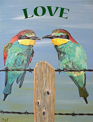 Painting - Love  by Eric Kempson