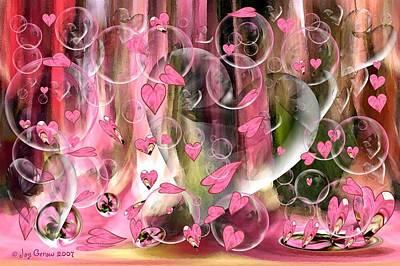 Love Floats Art Print by Joy Gerow