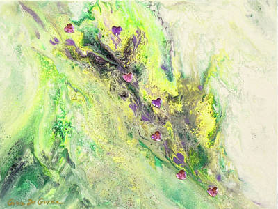 Painting - Love Flows by Gina De Gorna