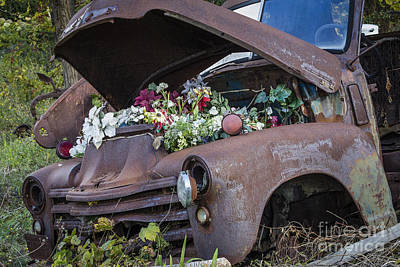Photograph - Love For An Old Truck by Joann Long
