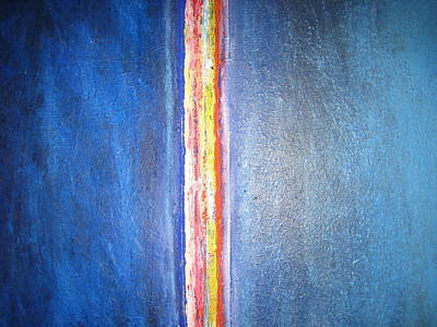 Painting - Love For Blue by Jack Walsh