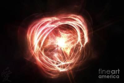 Digital Art - Love For Many by Michal Dunaj
