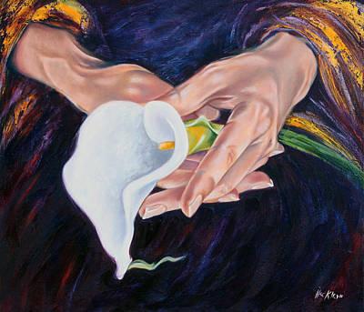 Love For My Daughters Art Print by Ilse Kleyn