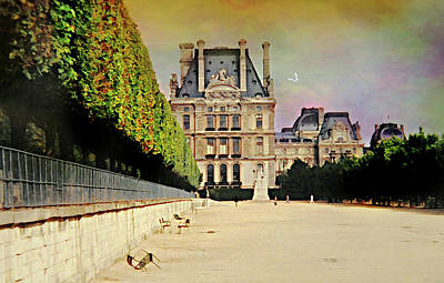 Photograph - Love For The Louvre by Diana Angstadt