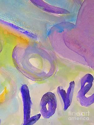 Painting - Love  by France Laliberte