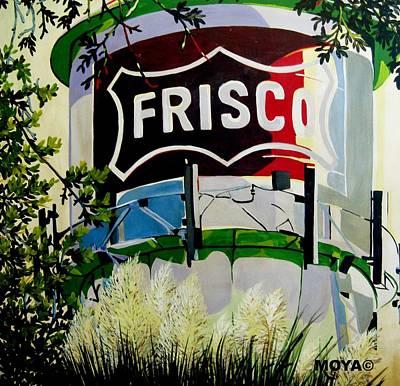 Austin Artist Mixed Media - Love Frisco by Diana Moya