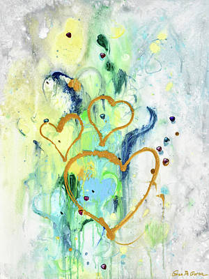 Painting - Love by Gina De Gorna