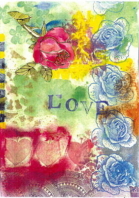 Painting - Love by Gloria Von Sperling