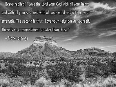 Photograph - Love God by Charles McKelroy